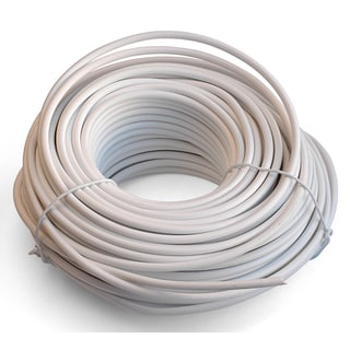 Black Point Products Inc BT-049-WHITE 100' 4 Conductor White Telephone Wire