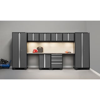 NewAge Bold Series 10 Piece Stainless Steel Cabinet Set