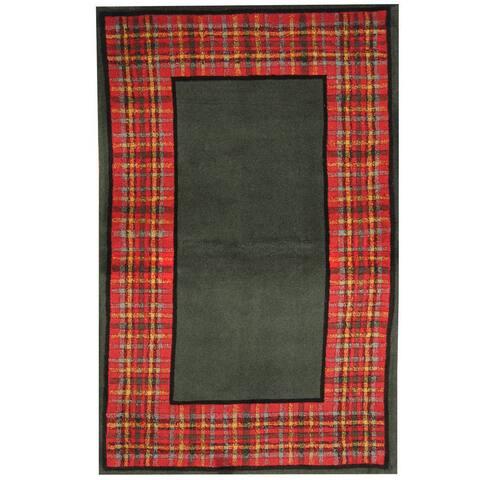 Handmade One-of-a-Kind Tibetan Wool Rug (India) - 3'6 x 5'6