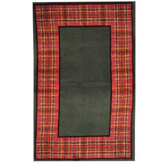 Herat Oriental Indo Hand-tufted Tibetan Wool Rug (3'6 x 5'6)