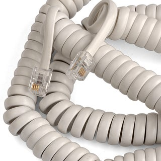 Black Point Products Inc BT-015-WHITE 25' White Telephone Handset Cord