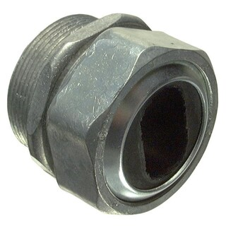 "Halex 10520 2"" Zinc Water Tight Connector"