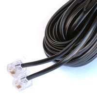 Black Point Products Inc BT-002-BLACK 25' Black 4 Wire Phone Cord