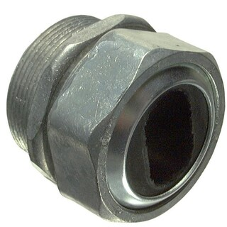 "Halex 08212 1-1/4"" Zinc Water Tight Connector"