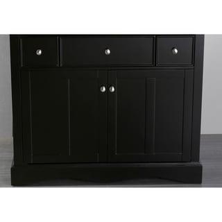 Bosconi SB-2205BMC Black 39-inch Main Vanity cabinet