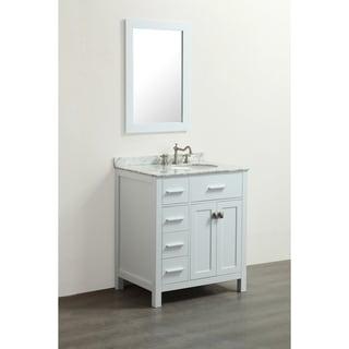 Bosconi SB-R2104WH White 30-inch Single Vanity