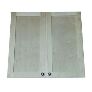 Freeport 22-inch-high Recessed Double-Door Medicine Cabinet