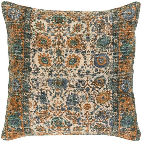 Decorative Lewes 22-inch Feather Down/Polyester Filled Throw Pillow