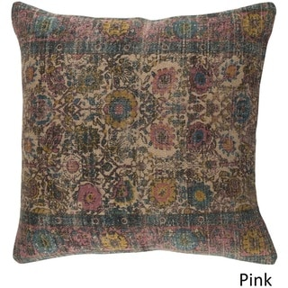 Decorative Lewes 20-inch Down/Polyester Filled Throw Pillow