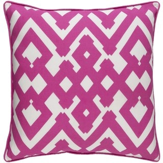 Decorative Esme 18-inch Down or Poly Filled Throw Pillow