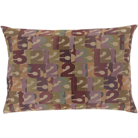 Decorative Bingley Feather Down or Poly Filled Throw Pillow (13 x 19)