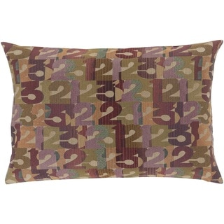 Decorative Bingley Down or Poly Filled Throw Pillow (13 x 19)