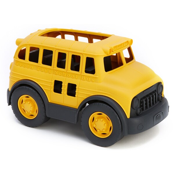Green Toys Recycled-Plastic School Bus