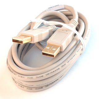 Black Point Products Inc BC-065 6' A-A USB Connector Cable