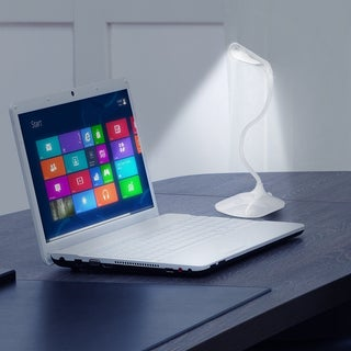 Led Concepts Portable Rechargeable Dimmable 6 Led Desk Lamp