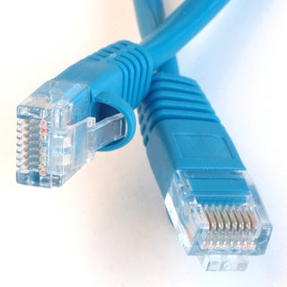 Black Point Products Inc BT-199-BLUE 50' Category 5 Blue Enhanced Patch Cord