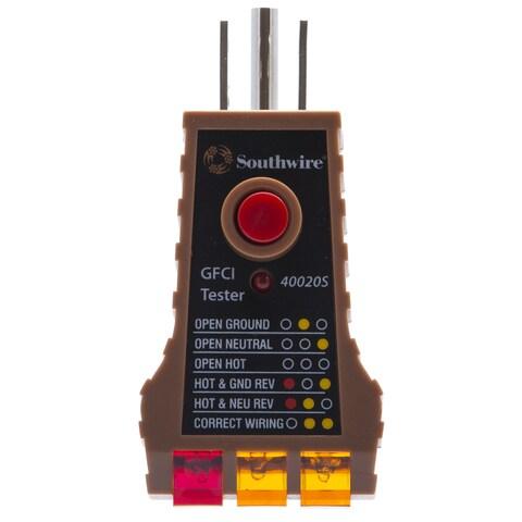 Southwire 58292640 GFCI Tester