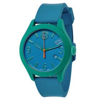ESQ Movado Blue Dial Silicone Short Strap Watch|https://ak1.ostkcdn.com/images/products/11766202/P18679796.jpg?impolicy=medium