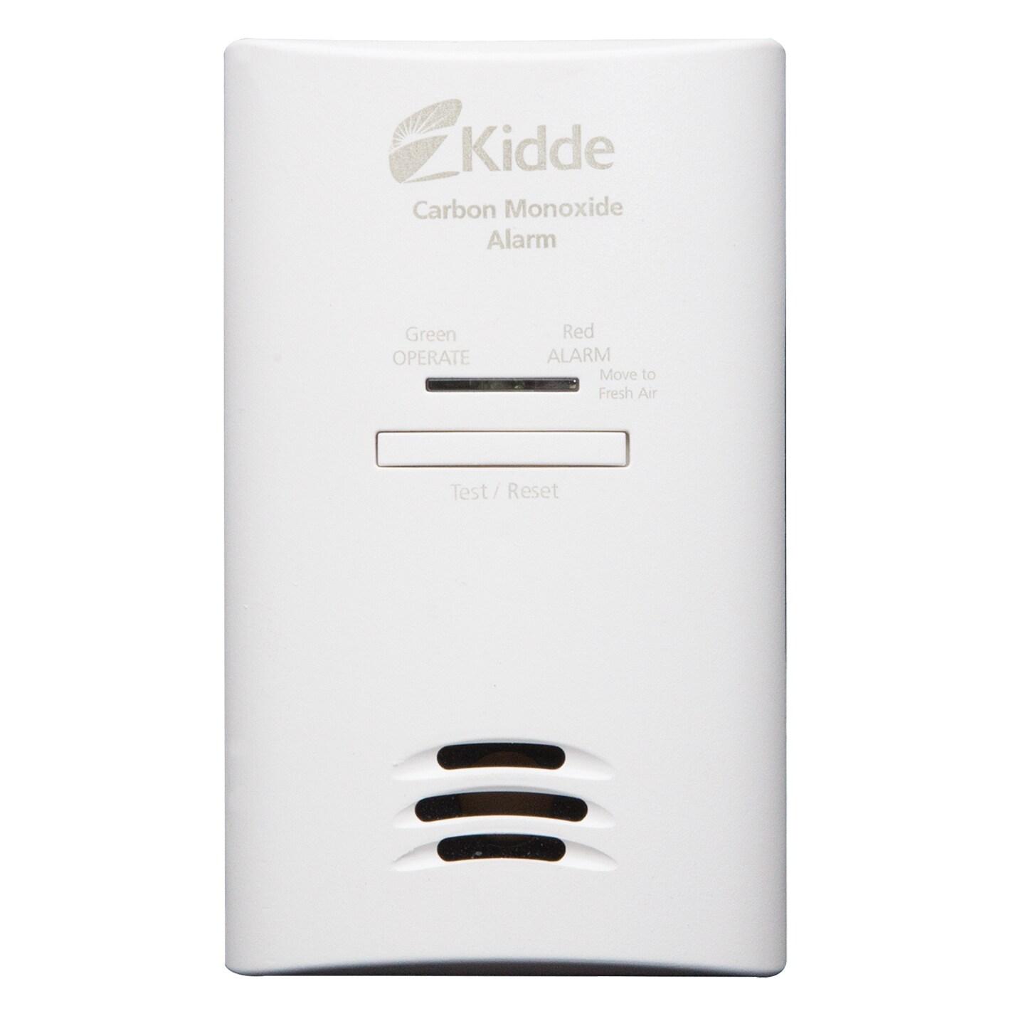 Kidde Ac/Dc Plug-In Carbon Monoxide Detector With 9-Volt Battery Backup 21025759
