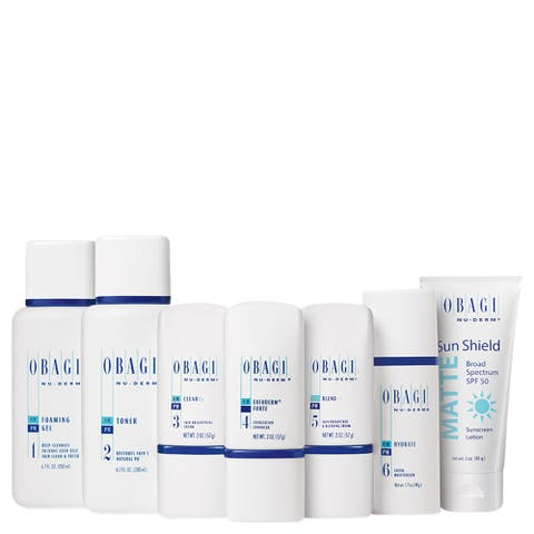 Obagi Nu-Derm Fx System for Normal to Oily Skin - White