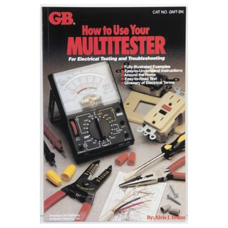 GB Gardner Bender 'How To Use Your Multitester' Book