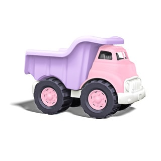 Green Toys Pink Plastic Dump Truck
