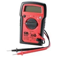 GB  LCD  Digital Multimeter  500 VAC, 600 VDC  Black/Red