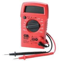 GB  Digital  Multimeter  2 meg Ohm, 500 VAC, 600 VDC  Black/Red
