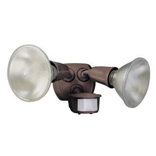 Designers Edge L6003BR Bronze Twin Head Flood Light