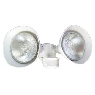 Designers Edge L6002WH White Twin Head Flood Light|https://ak1.ostkcdn.com/images/products/11766292/P18679859.jpg?impolicy=medium