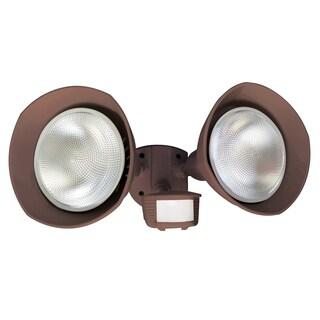 Designers Edge L6002BR Bronze Twin Head Flood Light