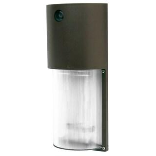 Designers Edge L1772 26 Watt Bronze Round Fluorescent Security Light