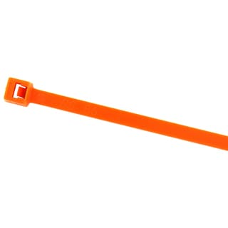 "Black Point Products Inc BE-0108O ORANGE 7.5"" Orange Cable Ties 100-count"