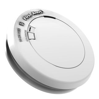 First Alert PR710 White Smoke Detector With 10 Year Life