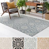 Meticulously Woven Flood Polyester Rug - 7'6 x 9'6