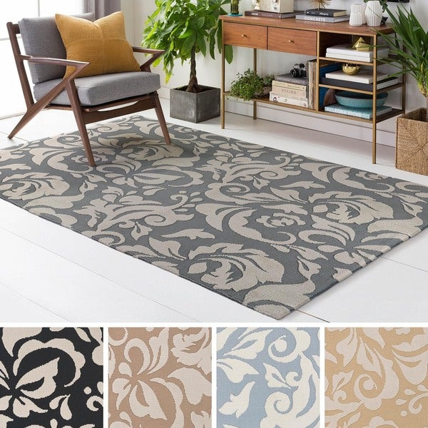 Meticulously Woven Fosse Polyester Rug (3' x 5')