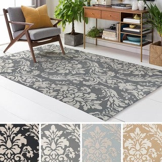 Meticulously Woven Franc Polyester Rug (2' x 3')