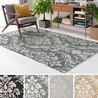 Meticulously Woven Franc Polyester Rug - 8' x 11'