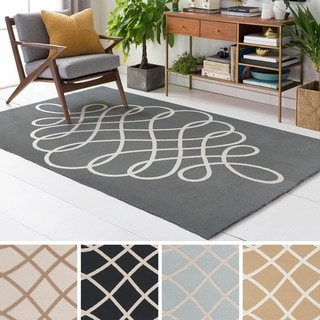 Meticulously Woven Front Polyester Rug (5' x 7'6)