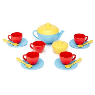 Green Toys Blue Tea Set