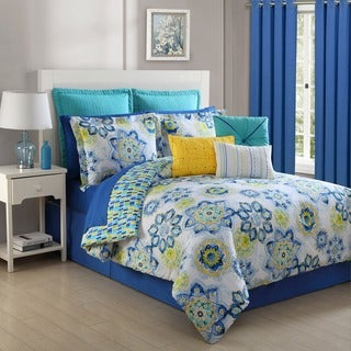 La Vida 3-piece Comforter Set by Fiesta