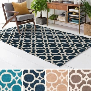Hand Tufted Great Wool Rug (5' x 8')