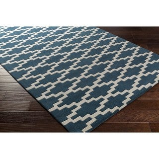 Hand Tufted Herzl Wool Rug (5' x 8')