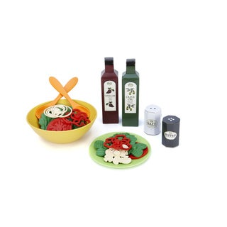 Green Toys Plastic Salad Set