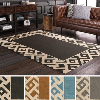 Hand Tufted Laghi Jute Rug (5' x 7'6)