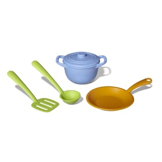 Green Toys Multicolor Recycled Plastic Chef Set