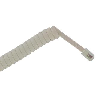 Leviton 836-C2407-25W 25' White Handset Cord