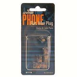 Leviton 830-C0257 Phone Line Modular Plug