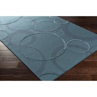 Hand Tufted Paseo Wool/Viscose Rug (5' x 8')
