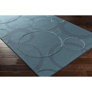 Hand Tufted Paseo Wool/Viscose Rug (8' x 10') - 8' x 10'